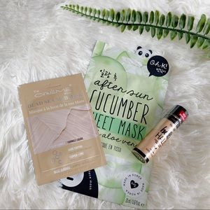 FACE MASK AND CREAM HIGHLIGHT BUNDLE SET (0906)